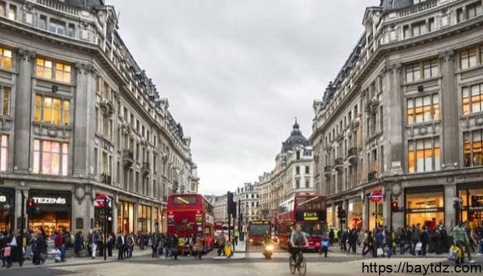 اشهر شوارع لندن السياحية