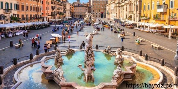 اشهر ميادين روما