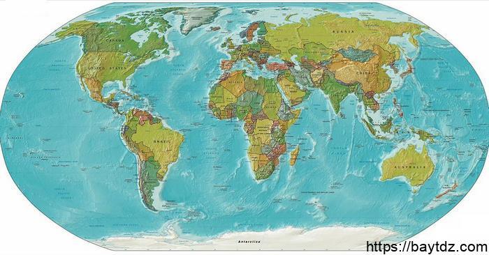 الفرق بين خريطة وخارطة