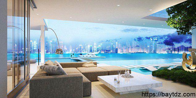 المنازل الأكثر فخامة في دبي