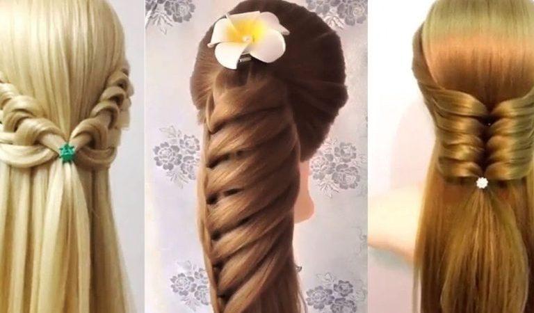 انواع تسريحات الشعر بالصور