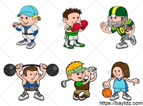 بحث باللغة الانجليزية عن الرياضة