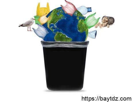 تأثير البلاستيك على البيئة