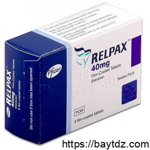 """تعليمات نشرة دواء """" ريلباكس """" .. relpax"""