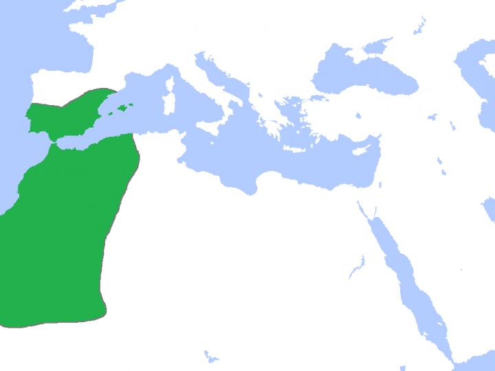 خريطة دولة المرابطين و اسباب سقوطها