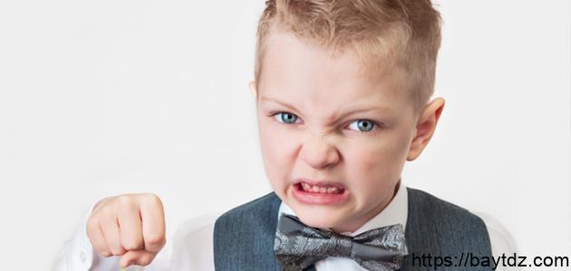 صفات الطفل العدواني