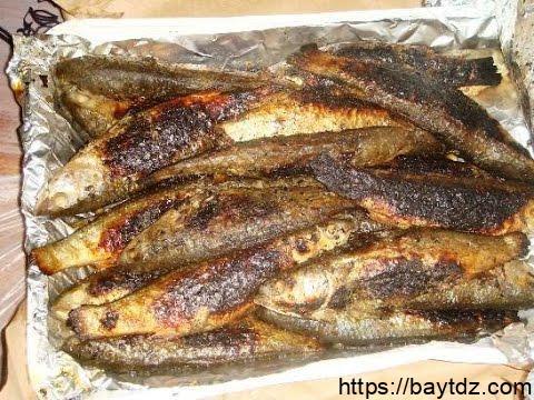 طريقة عمل سمك الميد المشوي