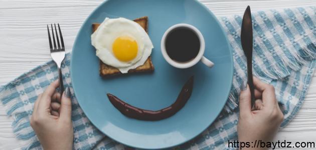 عبارات عن الفطور الصحي للاطفال