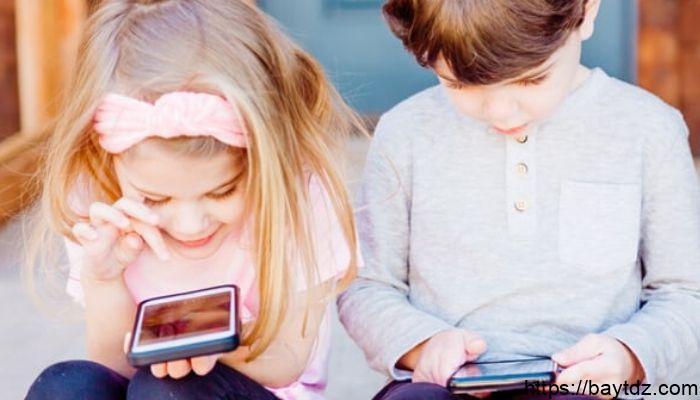 علاج إدمان الهواتف عند الأطفال