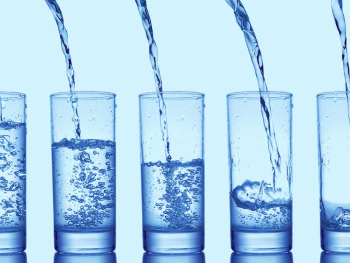 علامات اكتفاء الجسم من الماء