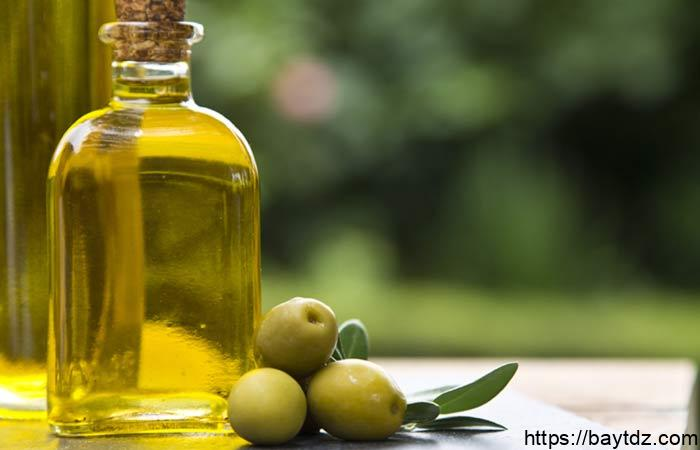 فوائد دهن البطن بزيت الزيتون