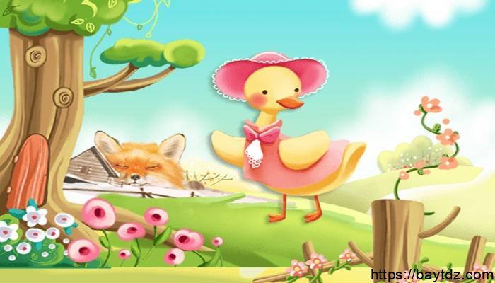 قصة البطة والأرنب