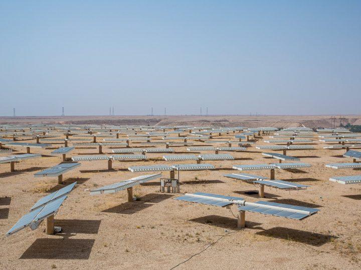 ما هو معدل الاشعاع الشمسي في السعودية