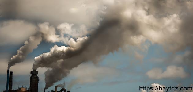 معلومات عن طرائق يؤثر بها تلوث الهواء في البيئه