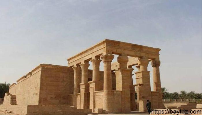 معلومات عن معبد هيبس