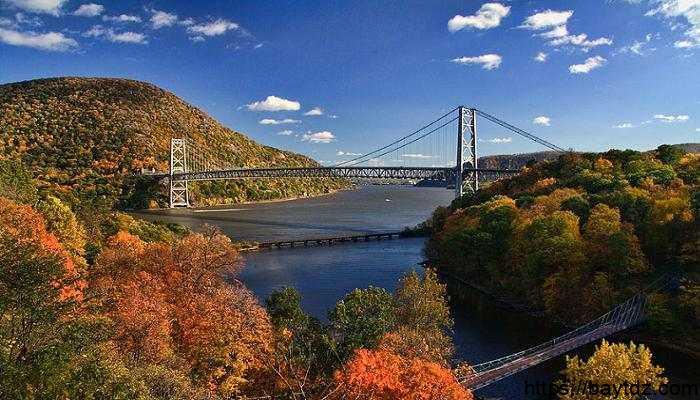 معلومات عن نهر هدسون في امريكا