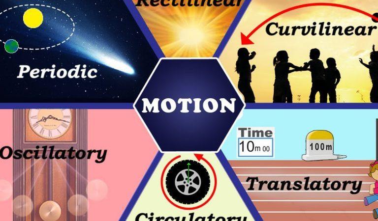 مفهوم الحركة وانواعها