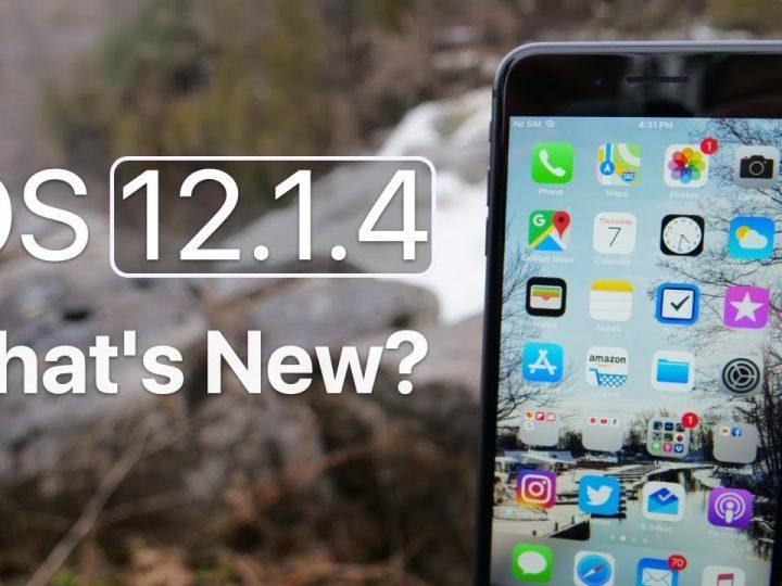 """مميزات تحديث الايفون الجديد """" iOS 12.1.4 """""""
