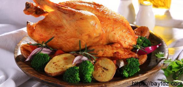هل تناول جلد الدجاج صحي