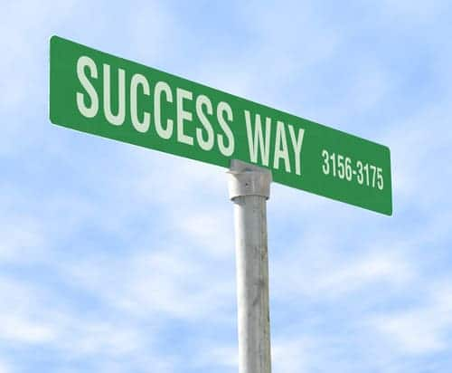 التفكير الايجابي الطريق الى النجاح
