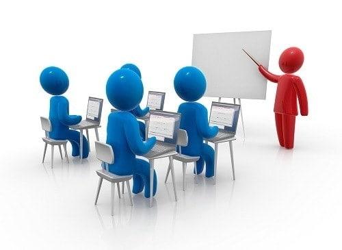 مشروع مركز دورات تدريبية لطلبة الكليات الانجليزية
