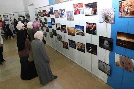مشروع معرض الصور الفوتوغرافية مع توضيح كافة التفاصيل
