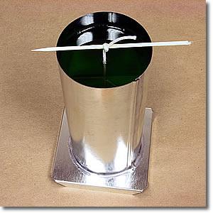 شرح مصور لصناعة الشموع الفاخرة يدويا في المنزل بأقل التكاليف