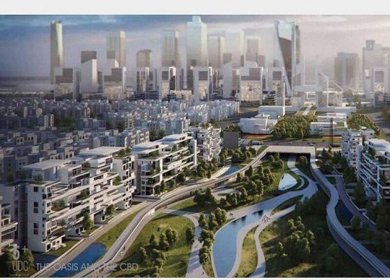 مخطط العاصمة الإدارية الجديدة