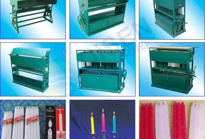 مشروع تجارة ماكينات صناعة الشمع