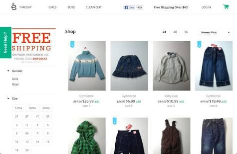 مشروع متجر الكتروني لبيع الملابس المستعملة