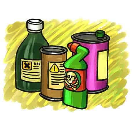 مشروع متجر المواد الكيميائية المستخدمة في الصناعات المنزلية