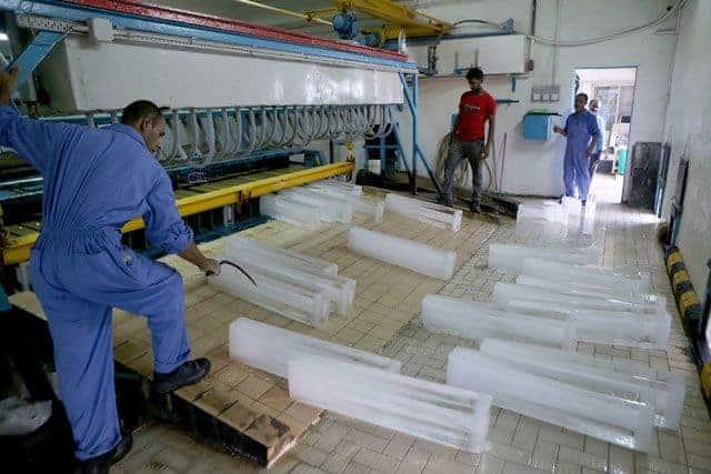 مشروع مصنع ثلج بصافي ربح ٣٦ الف في الشهر